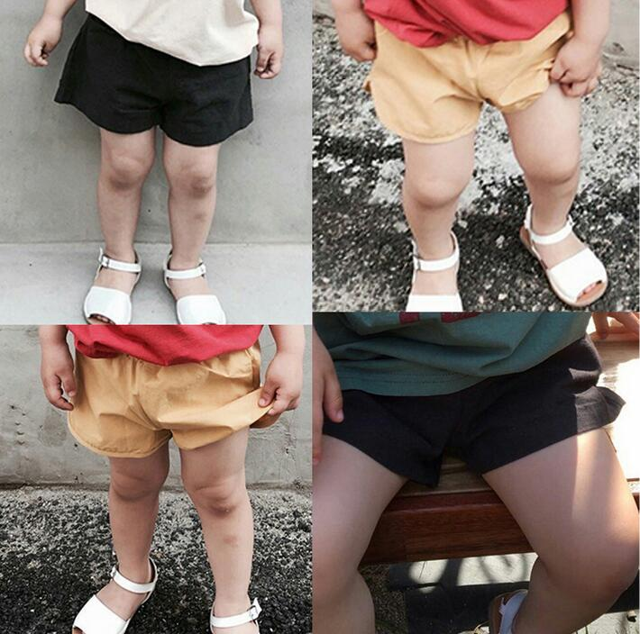 1-7 Years Summer Colorful Candy Shorts Baby Boys beach Pants bloomers children's Shorts For Cute kids shorts garcon