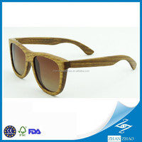 Promotional Customized Pear Wood Handmade Wood Sunglasses China Supplies