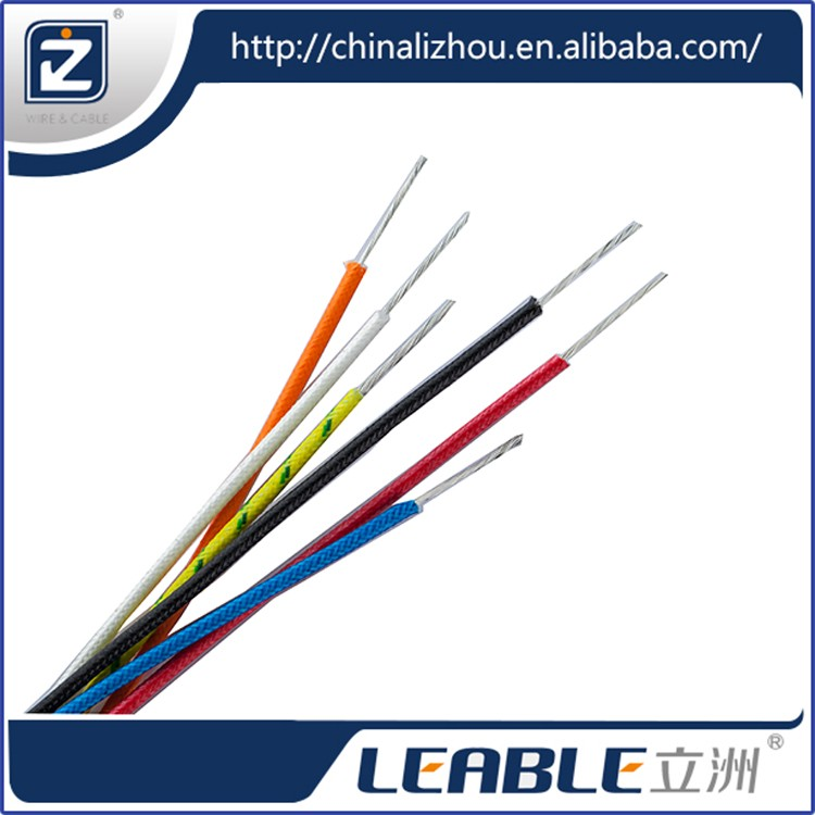 Standard silicon rubber flat cable , multi cores silicone cable