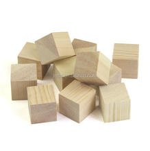 High quality wooden style puzzle cube