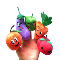 Nursery Rhyme Plush Telling Stories Finger Puppet Toys for Christmas Gift Kids Play Game Learn Story Cartoon Animal Doll