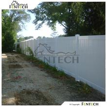 Ameican style high quality plastic garden fence panels