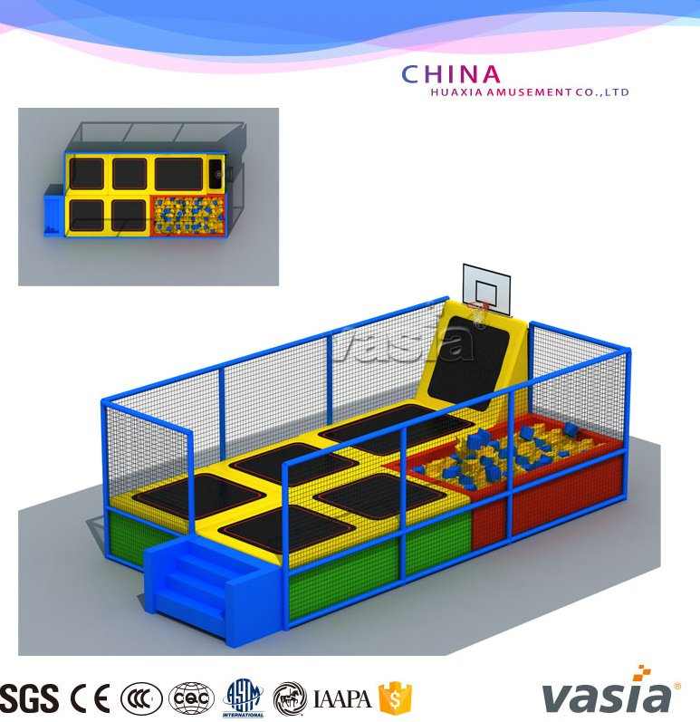 used trampolines for sale professional gymnastic large indoor trampoline park