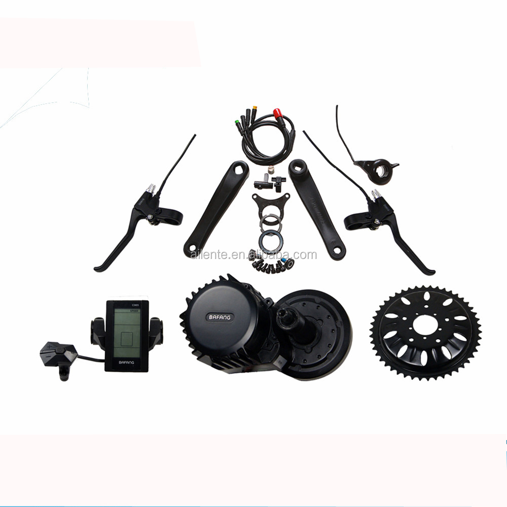 48V 1000W factory supply mid drive motor Electric Bike conversion kit