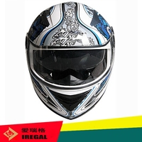 High quality ABS full face graphic design motorcycle helmet hot sale