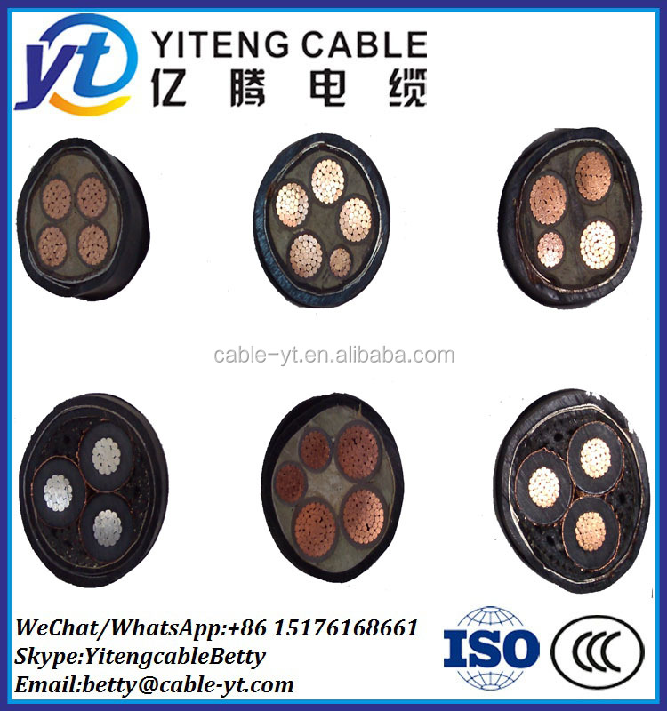 Factory Price 4 Core XLPE Insulated Armoured Power Cables