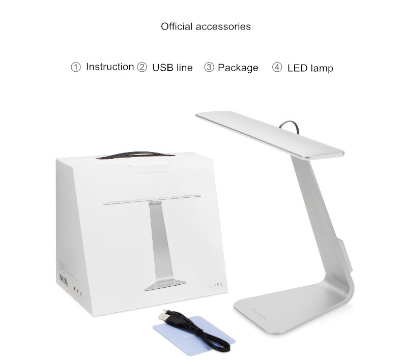 Hot new arrival fashion apple computer desktop reading table lamp