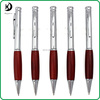 JXC178 wholesale new design promotion wood ball pen with logo