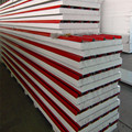 Factory Composite Perpainted Steel Metal Insulated Foam Eps Sandwich Panel