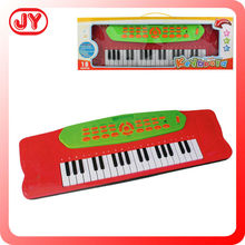 Small plastic toys music toys brands technics electronic organ for children with light with EN71