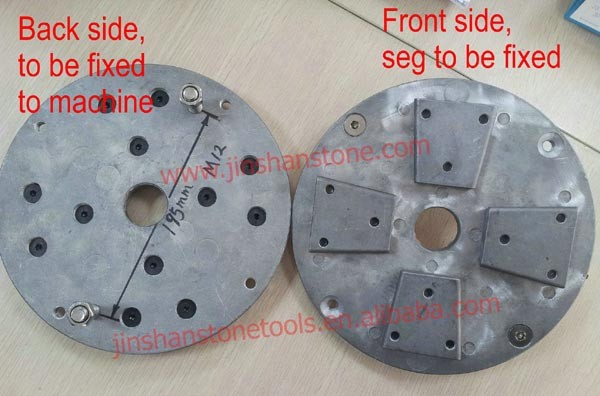 JS New Design Metal Grinding Plate used on Automatic Polishing Machine