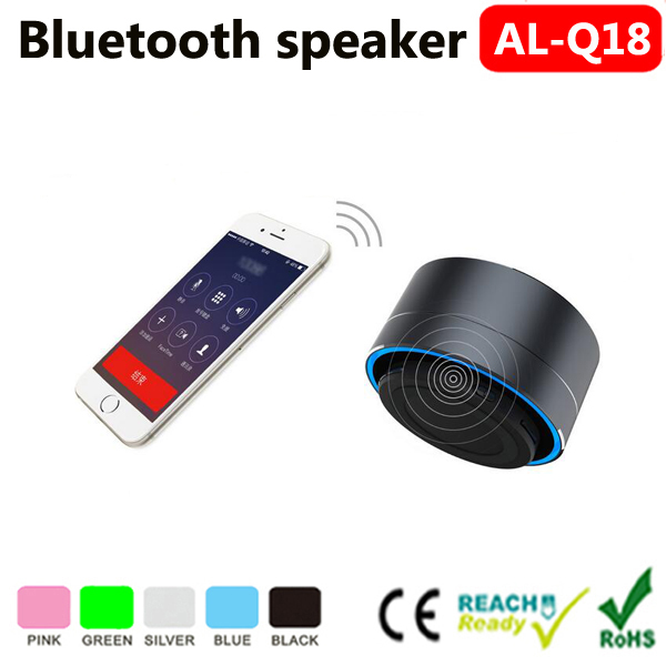 2016 oem cheap new creative speaker volumn control, mobile phone speaker,metal bluetooth speaker made in china