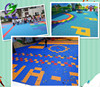 best price outdoor kindergarten flooring/ Playground Flooring pp interlocking flooring tiles