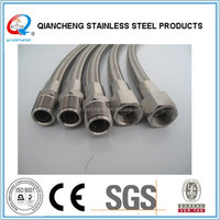 304 Stainless Steel Wire Braided High Pressure Teflon Paint Hose/Acid Resistant Pipe/PTFE
