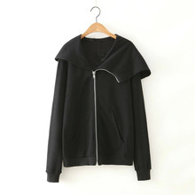 wholesale womens zip up private label hoodies