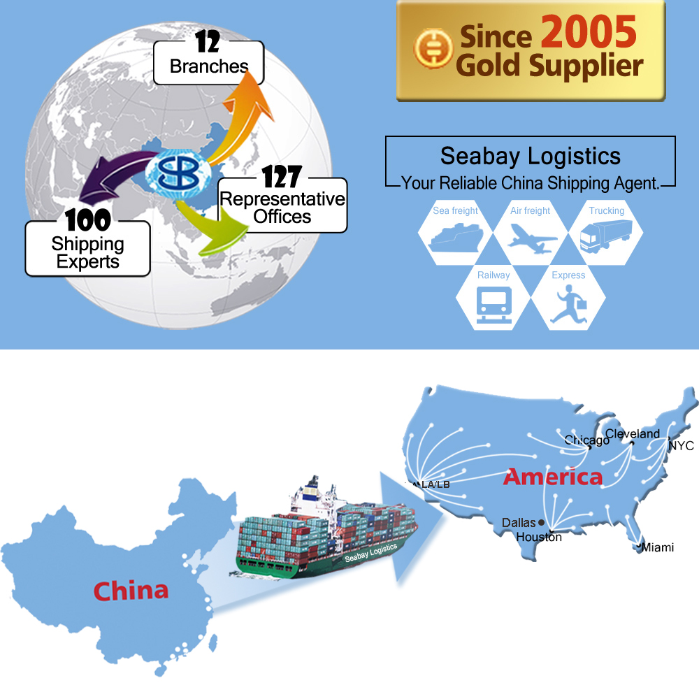 International ocean freight container shipping service from china to boston usa