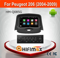 Hifimax Android 7.1 GPS Car DVD For Peugeot 206 2004-2009 Car DVD GPS Navigation System With Quad Core 3G Wifi Bluetooth 2G RAM