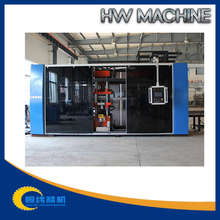 automatic high-speed pet/pp/ps/pvc plastic blister vacuum forming machine