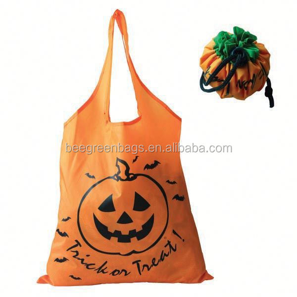 Hot folding fruit shape reusable promotion vegetable shopping trolley bag