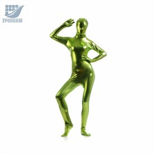 Glue Tight Suits Shiny Metallic Full Body Skin Cosplay Costume Halloween Bodysuit Latex Pvc Tights