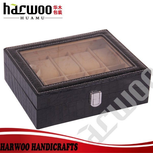 Great Luxury Wooden Bow Tie Storage Box With Compartments
