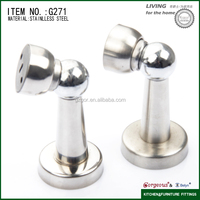 wood door stopper glass hardware shower door accessory