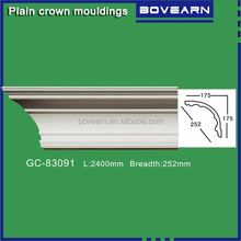 South-Africa supply PU ceiling cornice design / gypsum cornice replacement