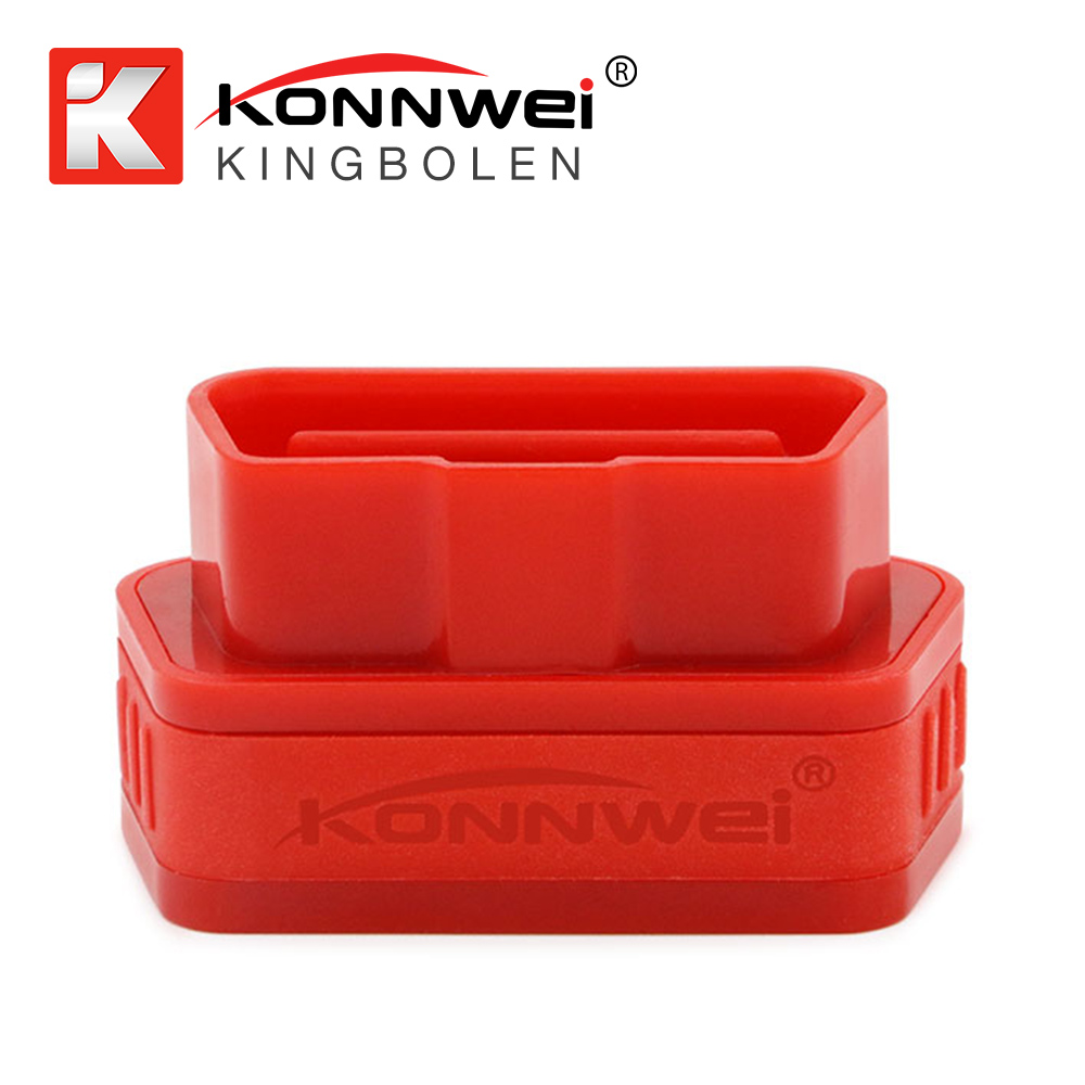 Konnwei KW901 ELM327 OBD2 Wireless Bluetooth Car Engine Automotive Fault Diagnostic Scanner Detector