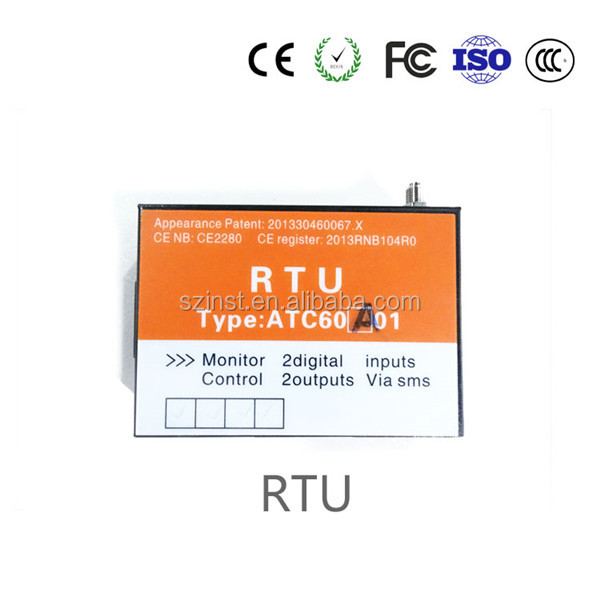 RTU for pumping stations control gsm gprs rtu modem