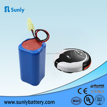 High capacity rechargeable 18650 5200mAh 18v li-ion battery pack