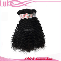 "HOT !!! 24"" (24 inch) Indian Human Remy Curl Hair Weave For Hair Weft Extension"