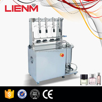Perfume Packing Four Heads 25ml Liquid Bottle Filling Machine