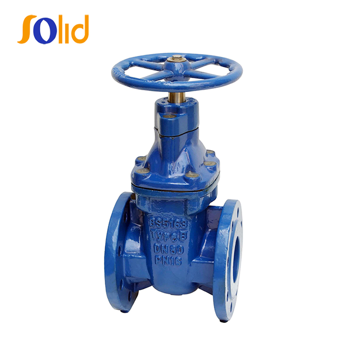 Ductile Iron BS5163/ 5150 Metal Seated Gate Valve PN16