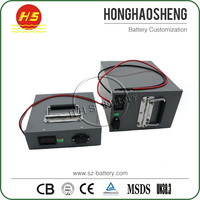 Factory price hot sale rechargeable lifepo4 15s20p 48v 60ah e tech battery pack for golf kart