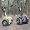 Double battery power electric scooter brushless 4000w Samsung li-ion battery off road kick scooter