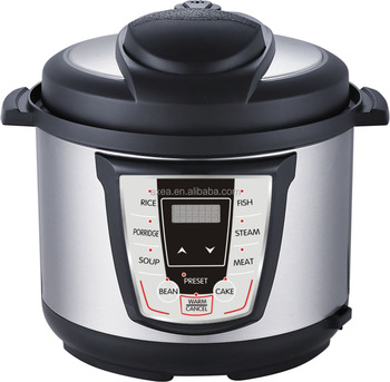 With safety devices electric pressure cooker nultifunctional