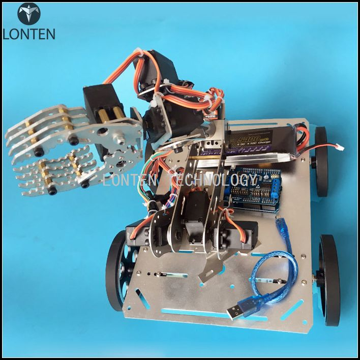 Arduino робот своими руками c пультом wi-fi 64