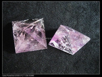 Natural amethyst quartz crystal pyramids,cut crystal pyramids,Decorative crystal pyramids