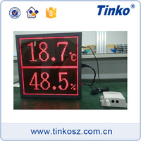 Temperature led display board 24V, ceiling mount monitor, display monitor
