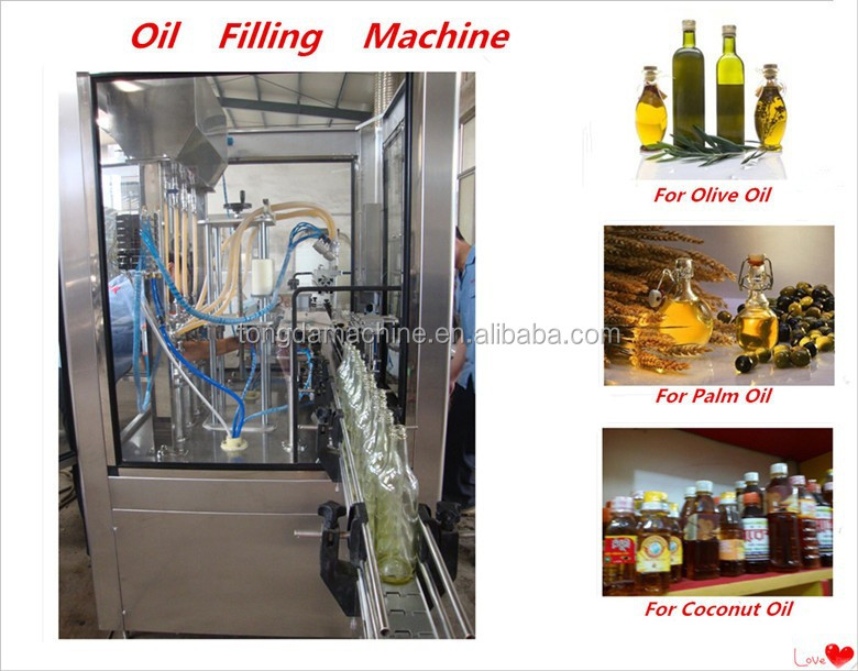 palm oil filling machine/palm oil production line/production line for olive oil bottling