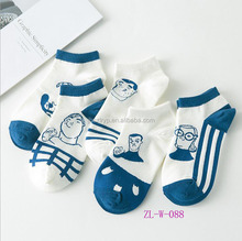 colored cotton socks for adult