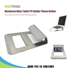Hot Sell Aluminum alloy tablet PC Holder laptop stand holder for Ipad/mobile