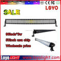 "52 "" straight dual row HIgh lumen 288w high power led light bar"