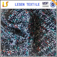Shanghai Lesen Textile hot sale woven different types of fabric prints