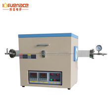 1200 celsius degree split vacuum Tube Furnace / electric vacuum tube furnace with quartz & vacuum pump