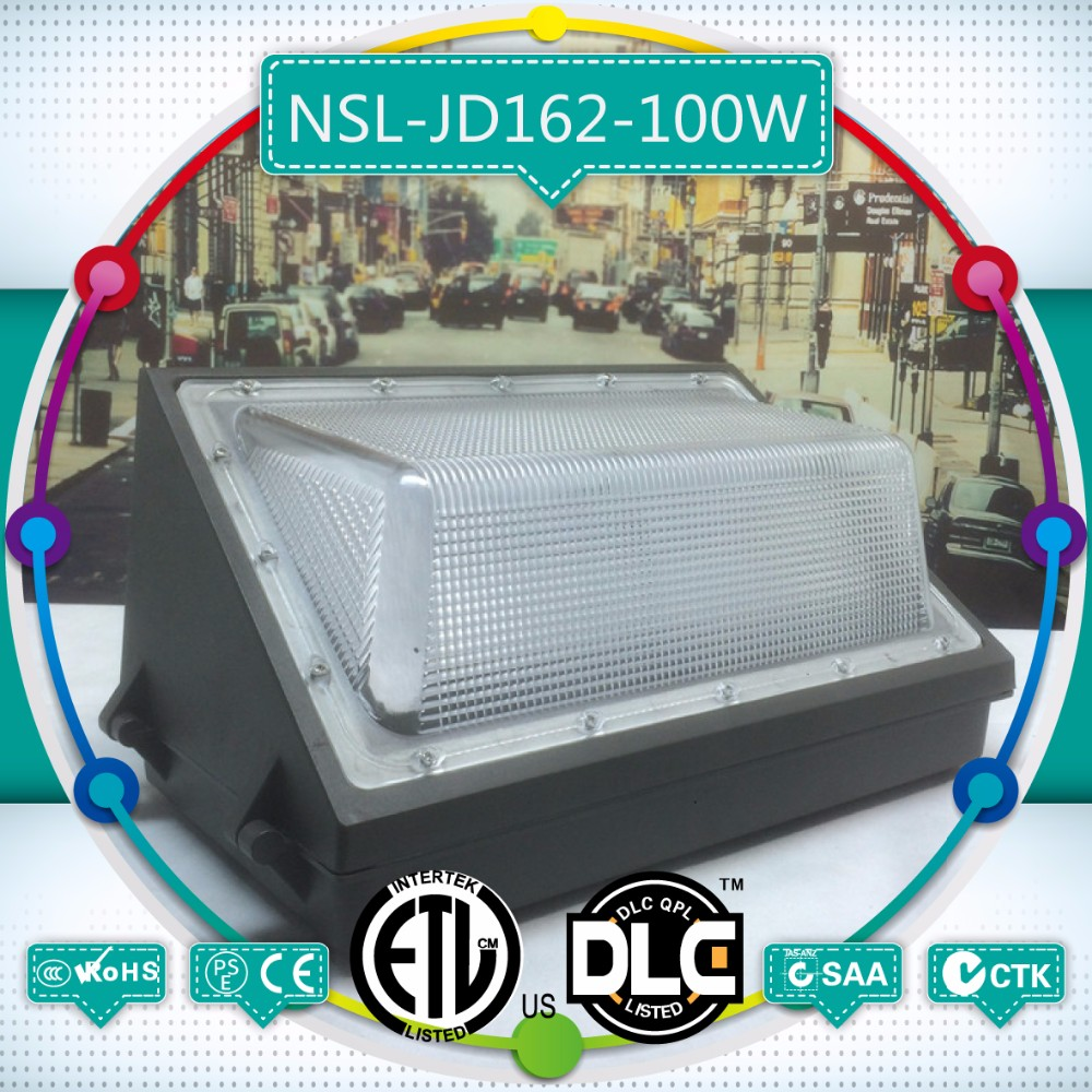 Sample for free 100w led wall pack, spot supply led wall pack dlc, led wall pack with photocell