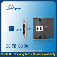 125khz Id Card Electronic Metal Steel Hidden Rfid Card File Cabinet Door Lock