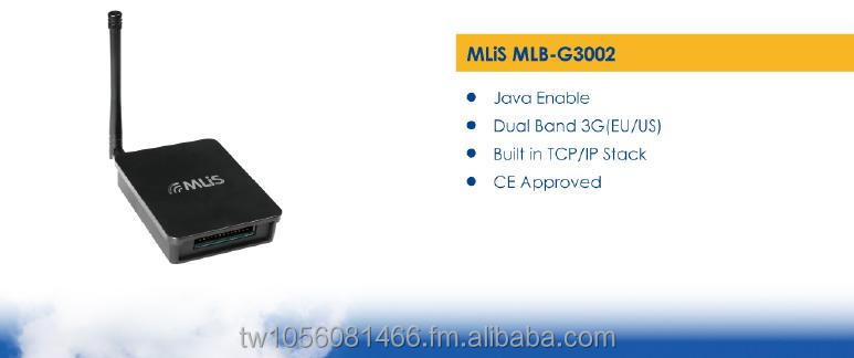 TAIWAN - INDUSTRIAL 3G Modem (Converter) for wireless M2M system MLB-G3002