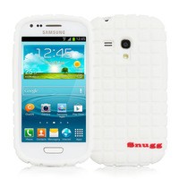 Snugg case for Samsung Galaxy S3 mini Squared Skinny Fit Protective Cover in White