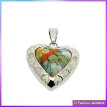 High Standard Low Price Personalized Half Heart Pendants